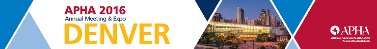 APHA 2016 Annual Meeting & Expo (Oct. 29 - Nov. 2, 2016)