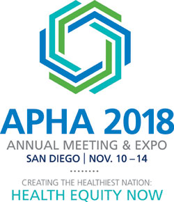 APHA's 2018 Annual Meeting & Expo (Nov. 10 - Nov. 14)