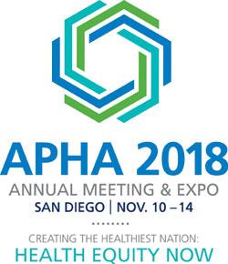 APHA's 2018 Annual Meeting & Expo (Nov. 10 - Nov. 14)